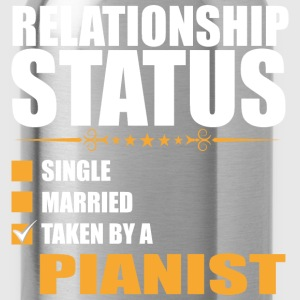Relationship Status Single Married Pianist - Water Bottle