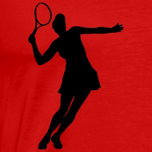 tennis Tanks - Men's Premium T-Shirt