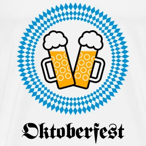 Oktoberfest (Wiesn / SVG / 3C) Tanks - Men's Premium T-Shirt
