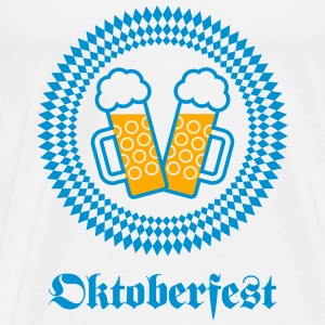 Oktoberfest (Wiesn / SVG / 2C) Tanks - Men's Premium T-Shirt