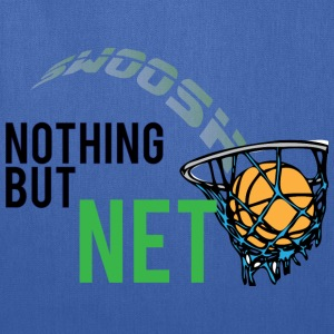 Nothing But Net dark blue t shirt - Tote Bag
