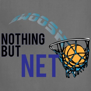 Nothing but net steel blue t shirt - Adjustable Apron