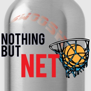 Nothing But Net light blue t shirt - Water Bottle