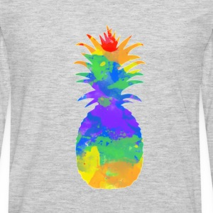 colorful-pineapple-redbubble (1).png Kids' Shirts - Men's Premium Long Sleeve T-Shirt