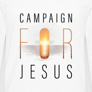Campaign for Jesus - Men's Premium Long Sleeve T-Shirt