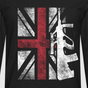 United Kingdom superheroes T - shirt - Men's Premium Long Sleeve T-Shirt