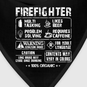 Firefighter - Multi tasking firefighter t-shirt - Bandana