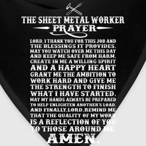 Sheet metal worker - The metal worker prayer tee - Bandana