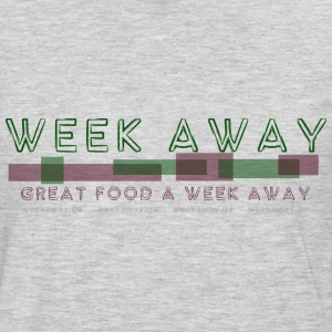 Week Away / Great Food A Week Away T-Shirts - Men's Premium Long Sleeve T-Shirt