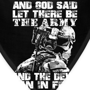 Us Army - God said let there be the army - Bandana