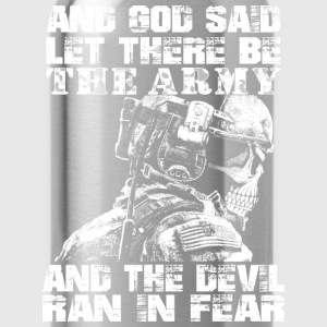 Us Army - God said let there be the army - Water Bottle