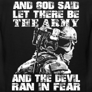 Us Army - God said let there be the army - Men's Premium Tank