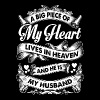 Husband - My husband is in heaven t-shirt - Women's Premium T-Shirt