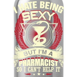 Pharmacist - I'm a sexy pharmacist awesome t - shi - Water Bottle