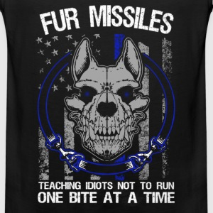 K9 - Fur missiles Teaching idiots not to run - Men's Premium Tank