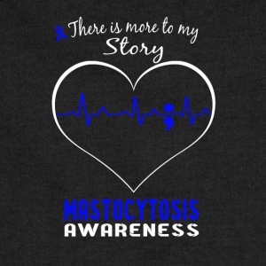 Mastocytosis awareness - More to my story t - shir - Sweatshirt Cinch Bag