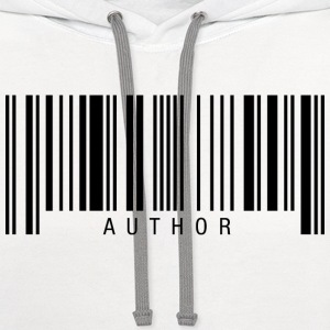 Author Barcode T-Shirts - Contrast Hoodie