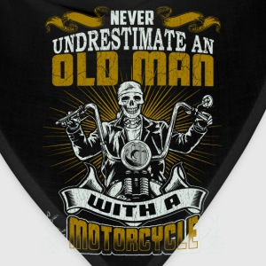 Motorcycle - An old man with a motorcycle - Bandana