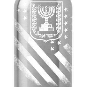 Proud to be american jewish - Water Bottle