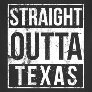 Texas - Straight outta Texas awesome t-shirt - Adjustable Apron