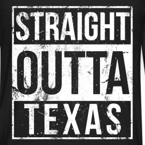 Texas - Straight outta Texas awesome t-shirt - Men's Premium Long Sleeve T-Shirt