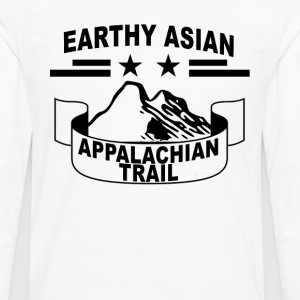 earthy_asian_appalachian_trail_tee_ - Men's Premium Long Sleeve T-Shirt