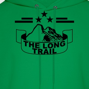 the_long_trail_ - Men's Hoodie