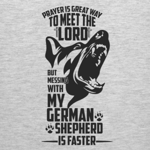 Prayer is great way to meet the lord ... - Men's Premium Tank