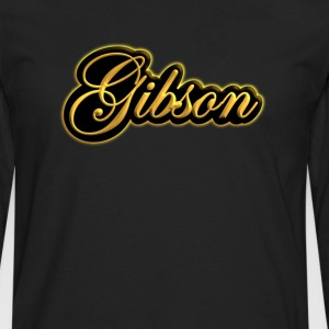 vintage gibson gold  - Men's Premium Long Sleeve T-Shirt