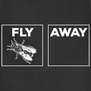 Fly Away white T-Shirts - Adjustable Apron