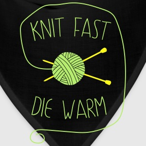 Knit fast die warm T-Shirts - Bandana