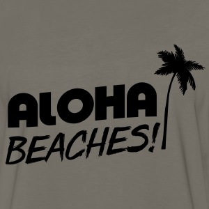 Aloha Beaches T-Shirts - Men's Premium Long Sleeve T-Shirt