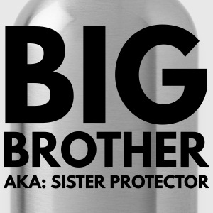 Big Brother. AKA: Sister Protector Kids' Shirts - Water Bottle