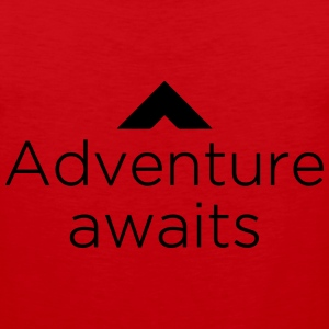 Adventure Awaits T-Shirts - Men's Premium Tank