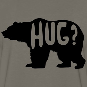 Bear Hug? T-Shirts - Men's Premium Long Sleeve T-Shirt