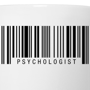Psychologist Barcode T-Shirts - Coffee/Tea Mug