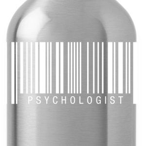 Psychologist Barcode T-Shirts - Water Bottle