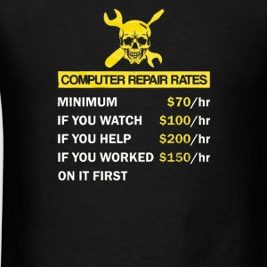 Computer Repair Rate - Men's T-Shirt