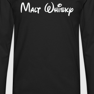 Malt Whiskey - Men's Premium Long Sleeve T-Shirt