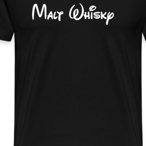 Malt Whiskey - Men's Premium T-Shirt