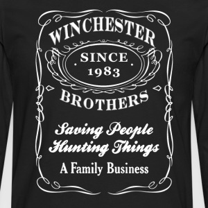 winchester brothers - supernatural - Men's Premium Long Sleeve T-Shirt