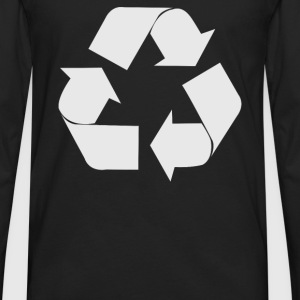 Recycle Symbol - Men's Premium Long Sleeve T-Shirt