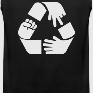 Rock Paper Scissors Cycle - Men's Premium Tank