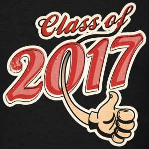 Class of 2017 Caps - Men's T-Shirt