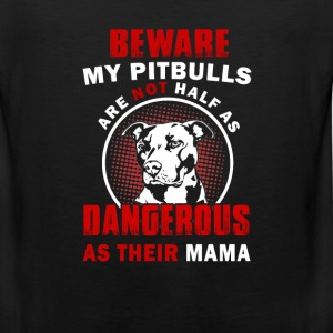pitbull dog - Men's Premium Tank