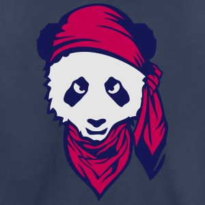 panda scarf 408 Kids' Shirts - Toddler Premium T-Shirt