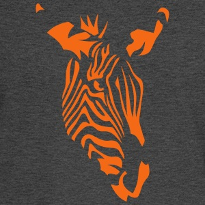 zebra wild animal 4072 T-Shirts - Men's Long Sleeve T-Shirt