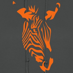 zebra wild animal 4072 T-Shirts - Women's Hoodie