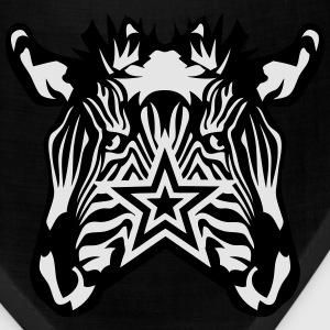 double star zebra T-Shirts - Bandana