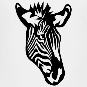 zebra wild animal 407 Kids' Shirts - Toddler Premium T-Shirt